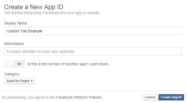 Crear App en Facebook Ideario Marketing