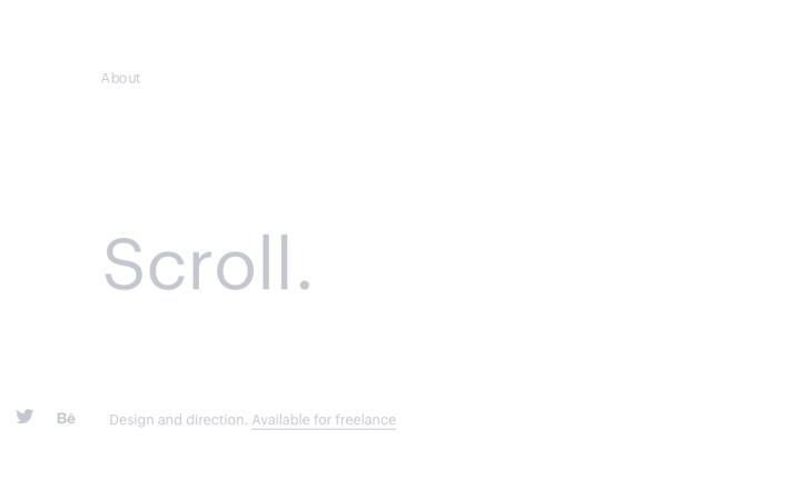 Tendencias de diseño web Mathieu Boulet