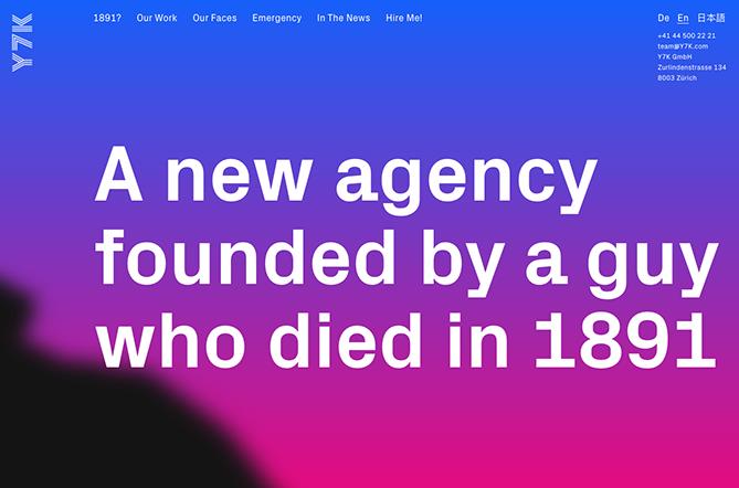 Tendencias de diseño web Y7K