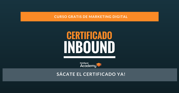 Certificación Inbound