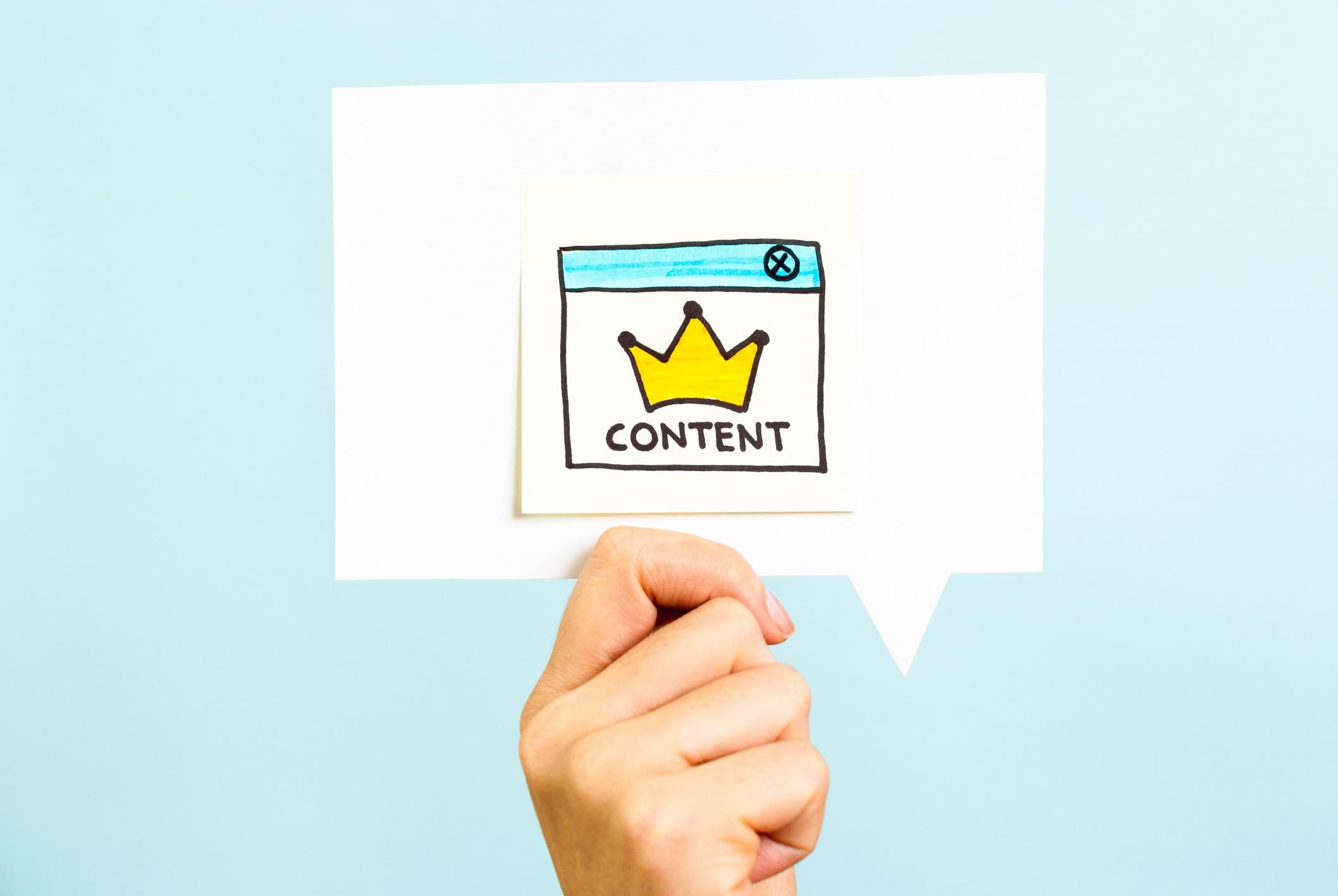 Usar el contenido