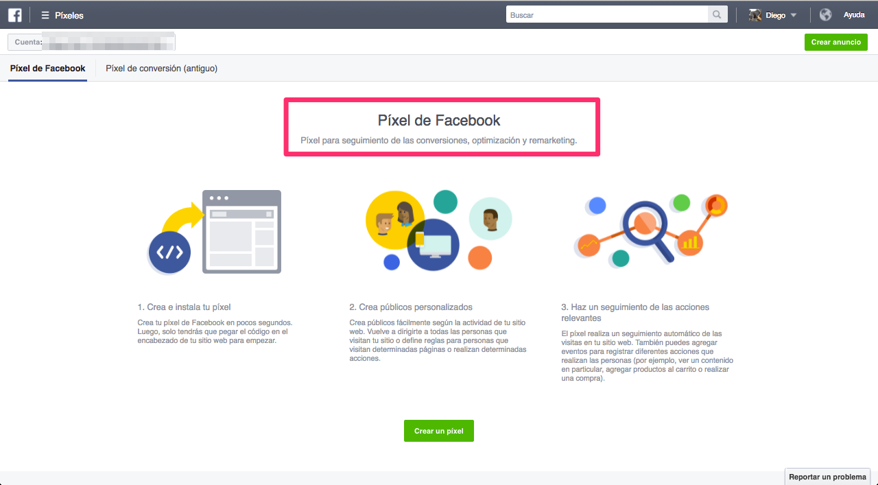 Remarketing en Facebook