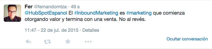 fernando defincion inbound marketing