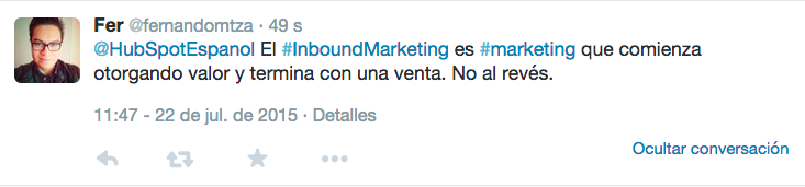 fernando defincion inbound marketing