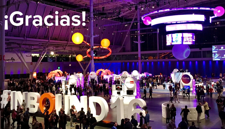INBOUND16 evento inbound marketing