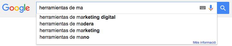 Google auto suggest