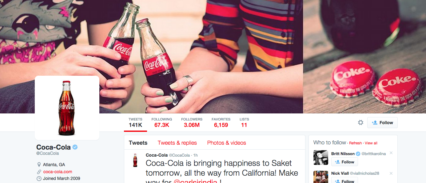 Coca Cola branding strategy