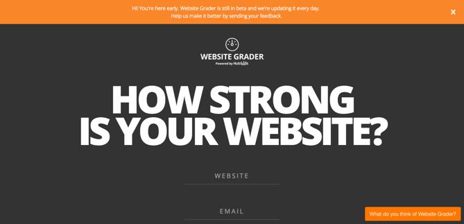 SEO Website Grader