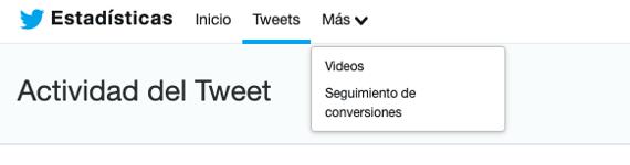 Actividad del Tweet en Twitter Analytics-1
