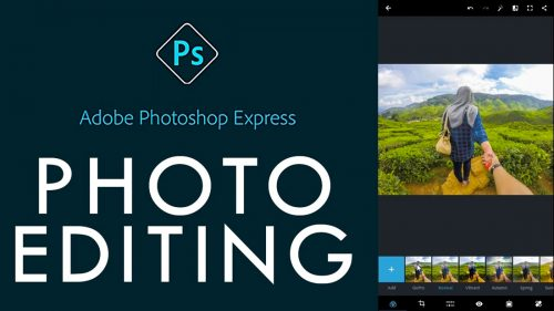 Adobe photo shop editor fotos