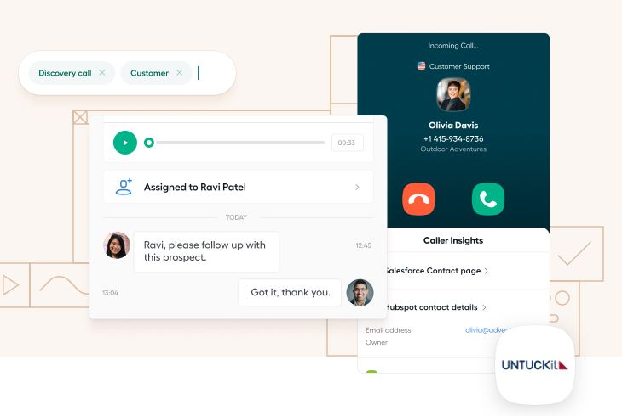 Aircall, herramienta de comunicación y productividad en ventas