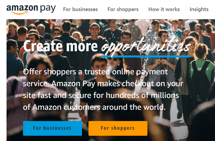 Amazon Pay mejores palestra