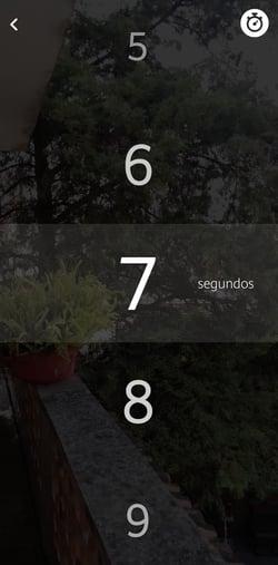 Asignar un número de repeticiones a un Snap