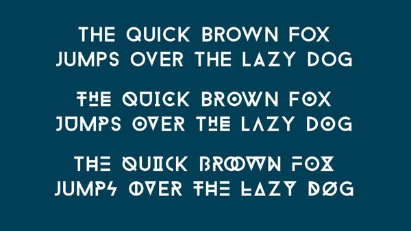 Baron tipografías  para logos