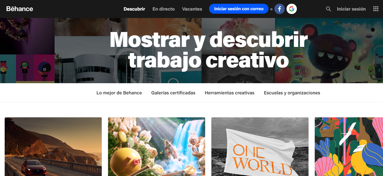 Behance blogs de diseño