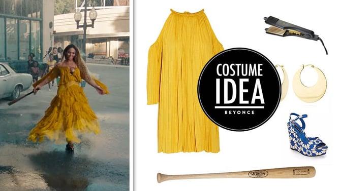 halloween costume Beyoncé office Lemonade