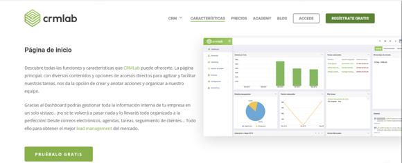 CRM Lab, CRM de ventas