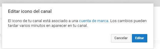 Cambiar el icono de mi canal de YouTube