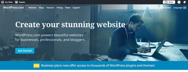Cómo crear un sitio en wordpress