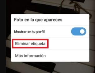 Cómo eliminar una etiqueta en Instagram