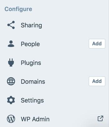 Cómo hacer un sitio web- panel de WP