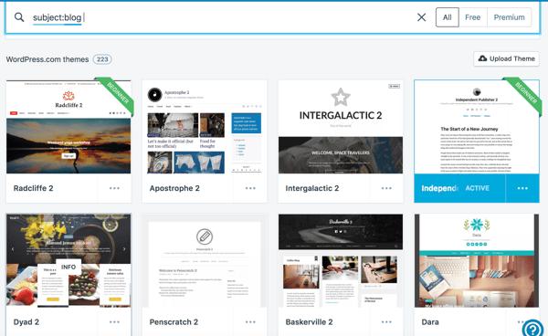 Cómo hacer un sitio web- temas en WP