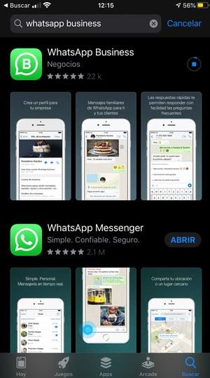 Cómo instalar WhatsApp Business