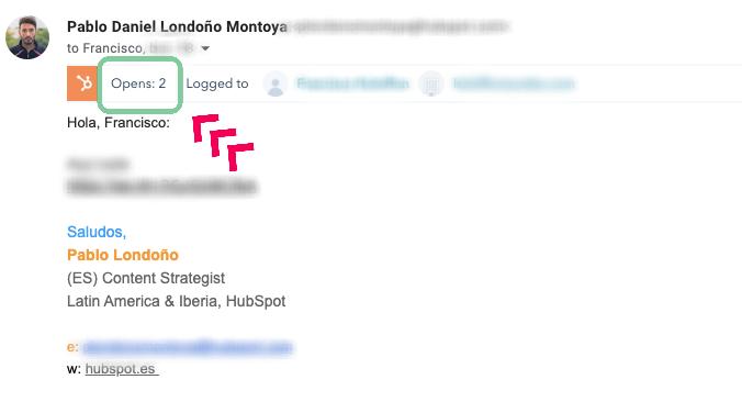 Cómo saber si alguien leyó mi correo HubSpot