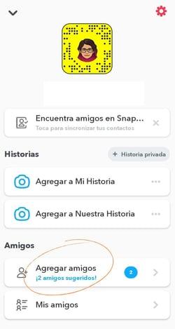 Cómo usar Snapchat- agregar amigos