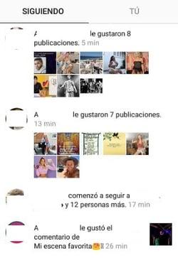 Cómo ver la actividad de otros usuarios en Instagram