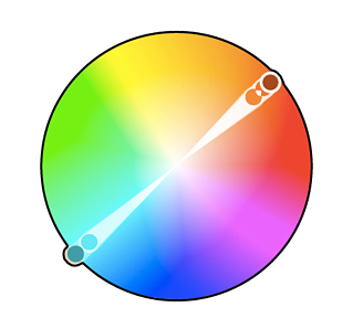 Colores complementarios en la teoría del color