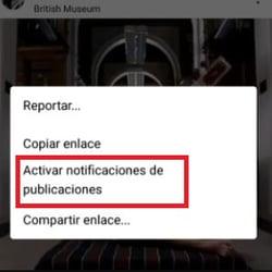Consejos de Instagram- activar las notificaciones de un usuario