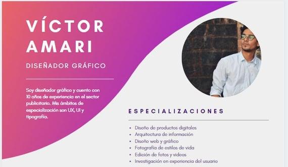 Creador de currículum gratis de Canva