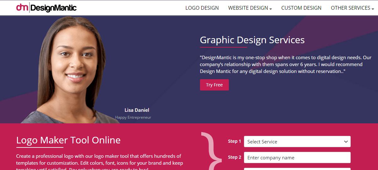 Design Mantic Creador de Logo