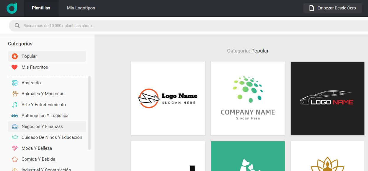 Design. Evo Creador de logos