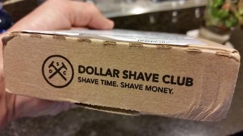 Eslogan de Dollar Shave Club.