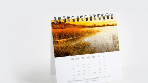 Calendario personalizado como regalo a clientes