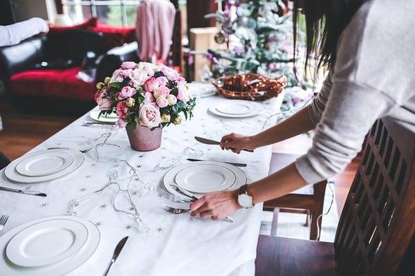Cena navideña como regalo para clientes