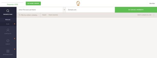 Averiguar correo electrónico con VoilaNorbert