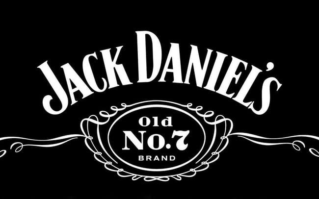 Logo famoso de Jack Daniel's