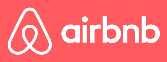 Logo creativo de airbnb