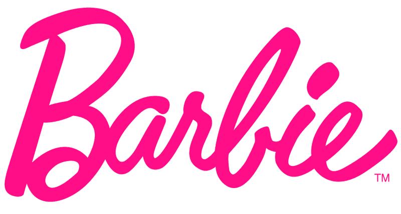 logo famoso de Barbie