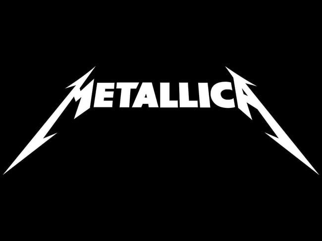 Logo creativo de Metallica