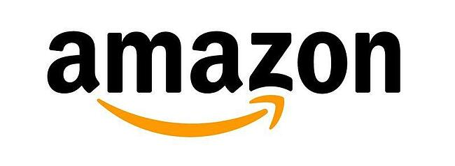 logo creativo de Amazon