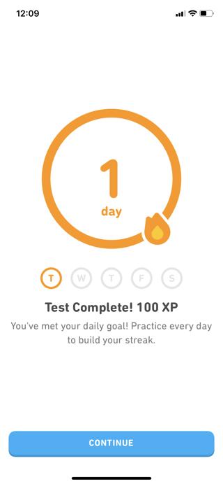 Ejemplo atención al cliente Duolingo