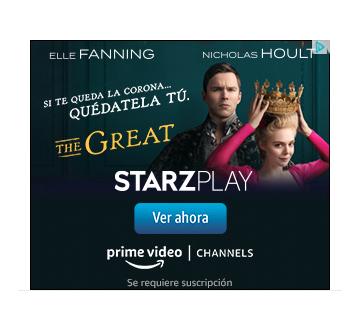 Ejemplo de banner publicitario de Starzplay