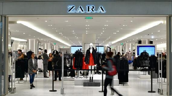 Ejemplo de marca que no usa el marketing tradicional- Zara
