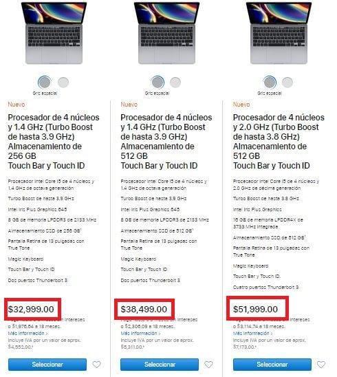 Ejemplo de precios psicológicos de Apple