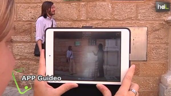 Ejemplo de realidad virtual- Guideo