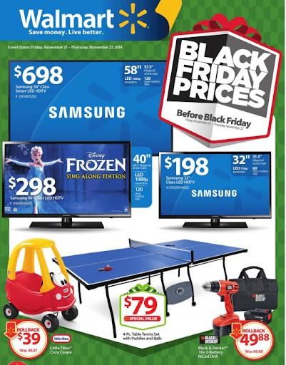 Ejemplos de precios psicológicos de Walmart en el Viernes Negro